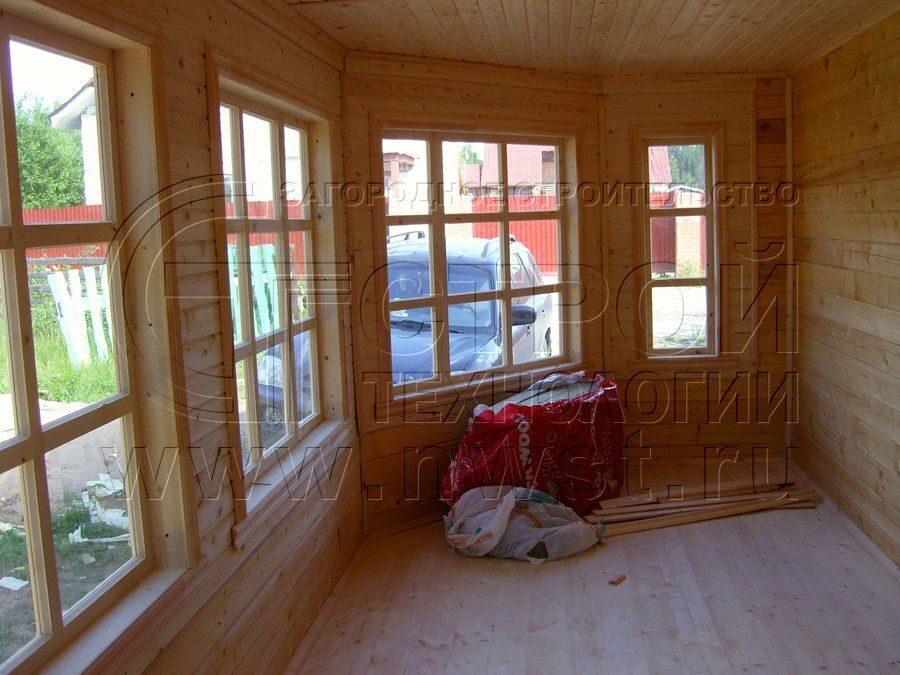 Как сделать теплую веранду в своем доме фото