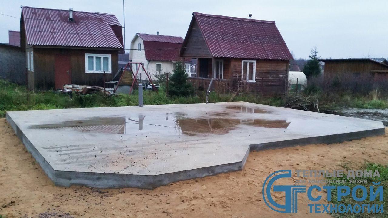 Проект фундамента жилого дома в Люберцах