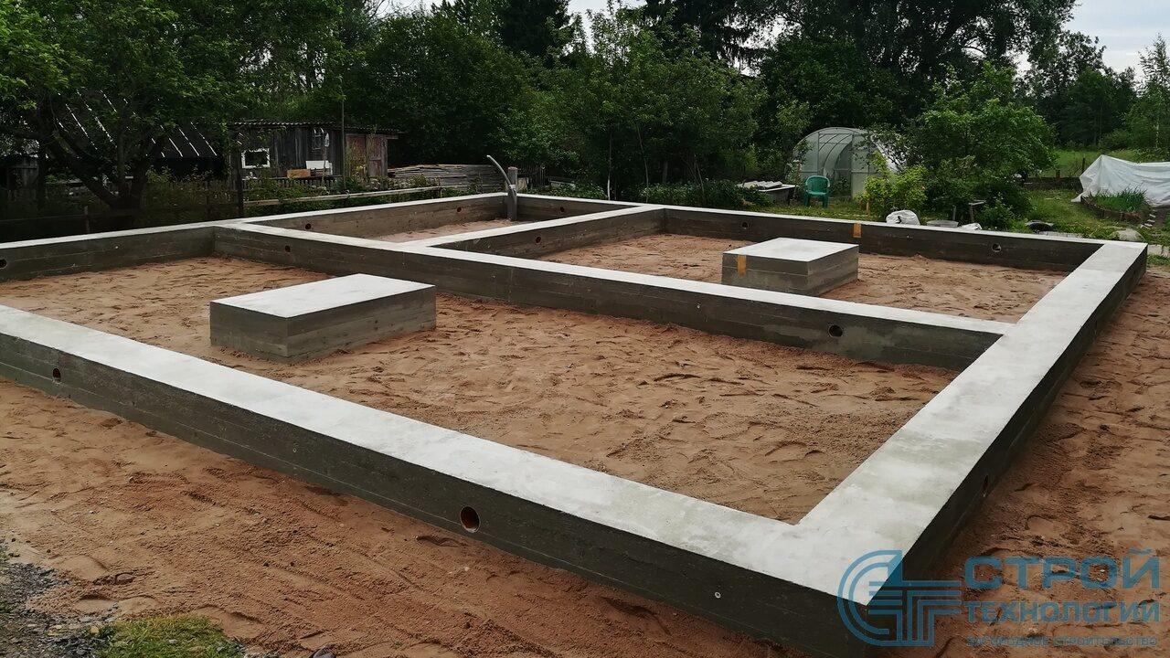 Фундамент для бани 3 на 4 цена Подольский район